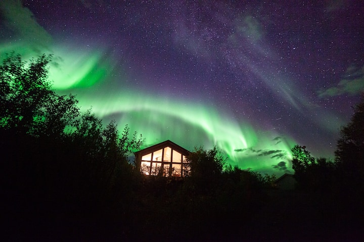 The Distillery Cabin Årøya View - Northern Lights