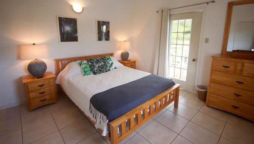 Master Bedroom with door to veranda