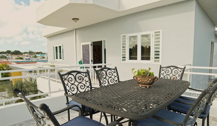 Homey Metro Terrace - 9 Min from Airport!