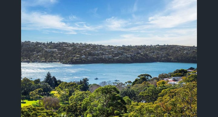 Middle harbour views 1KM to Balmoral Beach, Mosman