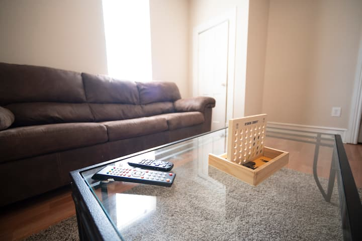 Updated home with game room close to downtown