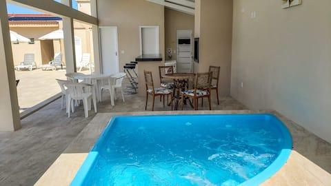 Tramandaí zona sul, vista p/ o mar, piscinas, wifi