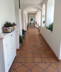 common hallway to unit