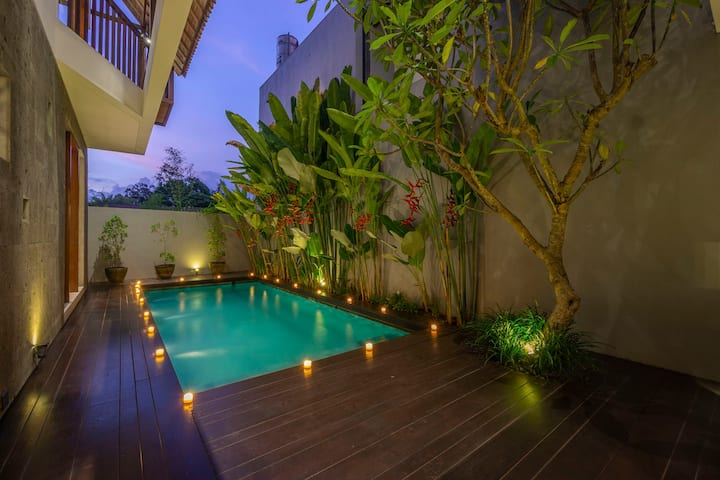 3BR Ubud Luxury Private Villa w/ serenity pool