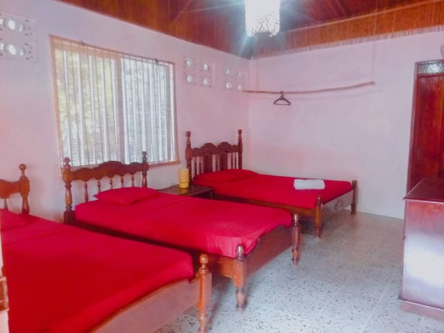Bahia, private room 4, few steps from the beach