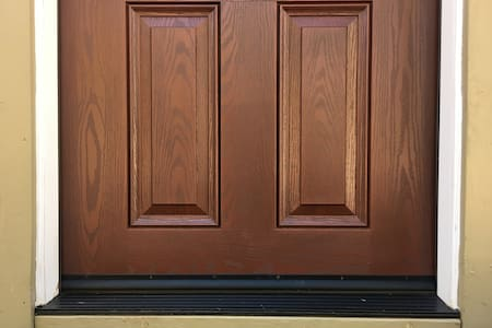 Wide doors for easy access