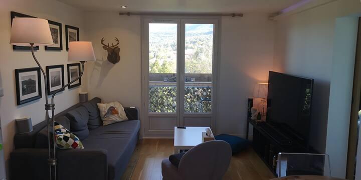 Chambre privée n°2 dans appartement lumineux