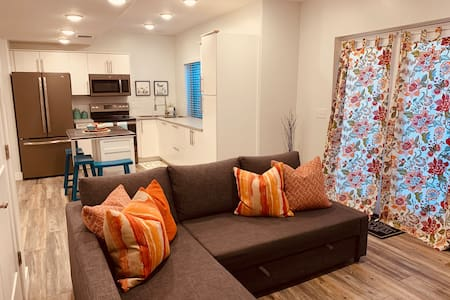 Bright and Modern Basement Apartment