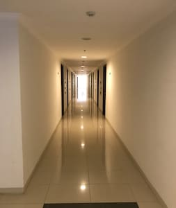 The pathway to go the room