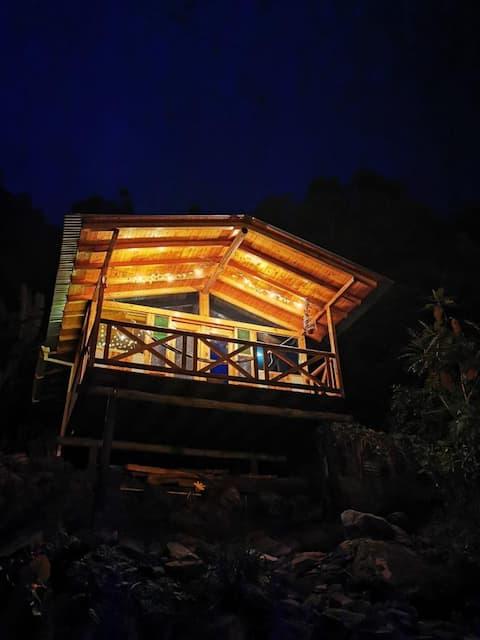 Cabaña el mirador ubicada en Juntas vía al nevado