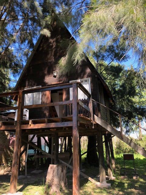 Cabin of the birds, on stream Abra Vieja