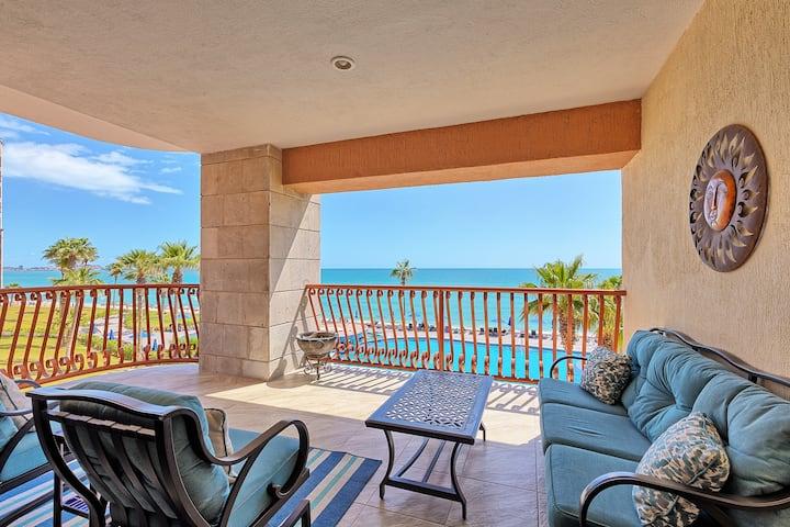 Wrap Around Balcony, Sandy Beach, Sonoran Sun