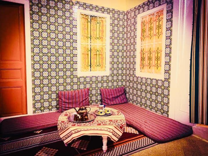 El Hamra, Maison Typique à Mahdia