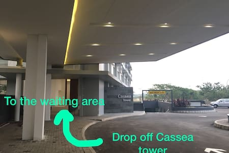 There's a ramp to get Cassea Lobby Tower