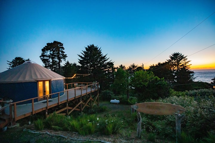 Otter Rock Surf Yurt