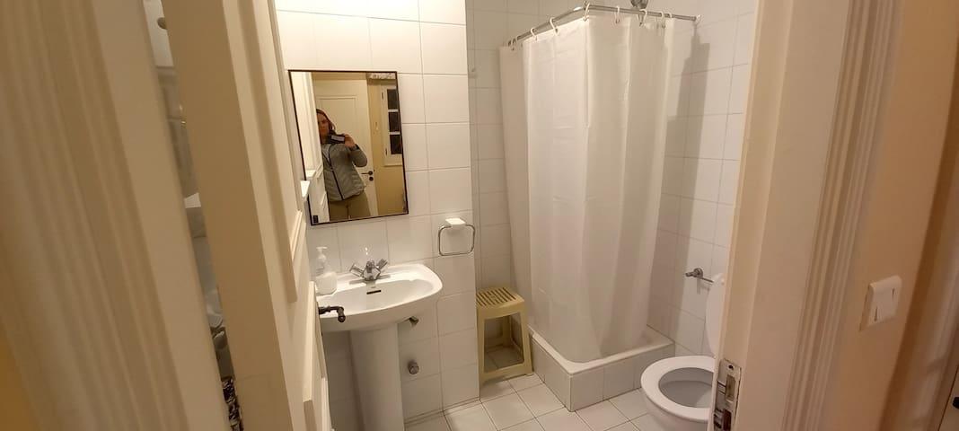 Baño 2  dentro de pieza individual