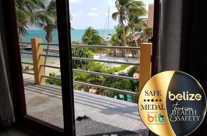 Amazing New Beach Condo on Caye Caulker