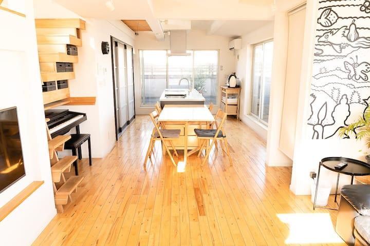 Spacious 3 Bedroom Designer House in Tokyo