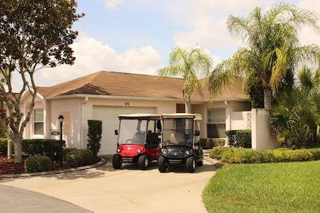 Villa 2 Master Suites/2 Golf Carts Great Location