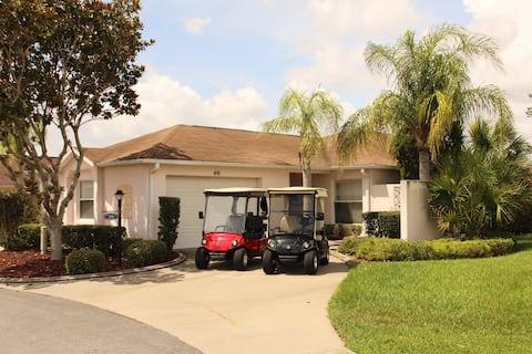 Villa 2 Master Suites/2 Golf Carts Great Location
