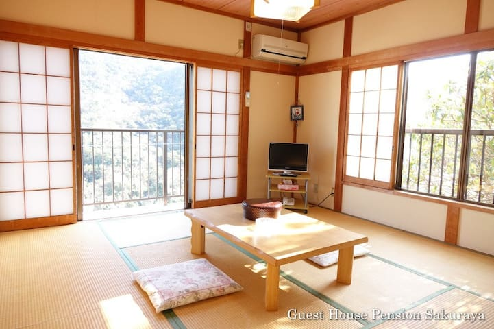 Japanese Nice View Room with 8 Tatami Mats