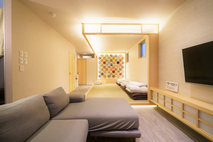 Japanese modern house  ◆Non-face-to-face check-in