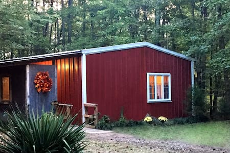 Parking is easy and spacious with gentle incline onto porch. Cottage is 1000' on one level.
