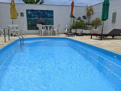 Casa 600m da Praia/Penha/Beto Carrero (10min)