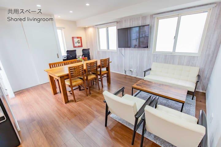 Port House Shibuya(Single room)