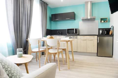 Luxe appartement op de kliffen van Le Tréport