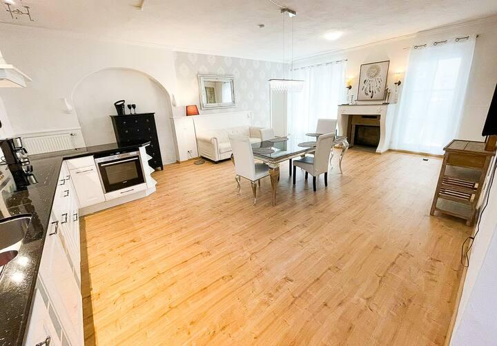 Luxuriöse Suite im Herzen von Ravensburg (Kamin)