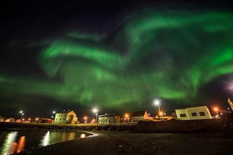 Comfortable Solo Traveler's Room in Blönduós *North Iceland*