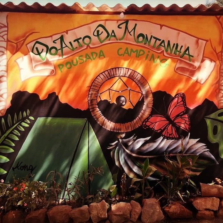 Quarto no Vale do Capão, Chapada Diamantina-Bahia