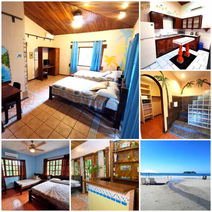 Private Apartment Suite 3 minute walk to Beach