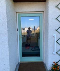 Entrance to apartment door