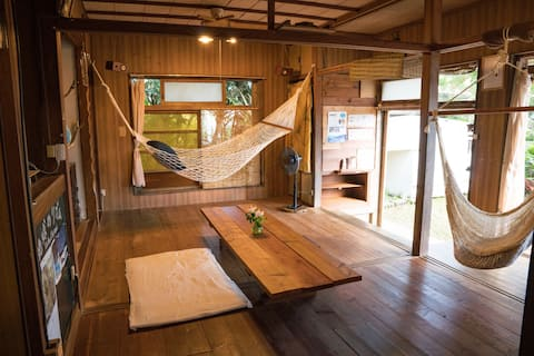 Cottage near the sea /Iriomote Island