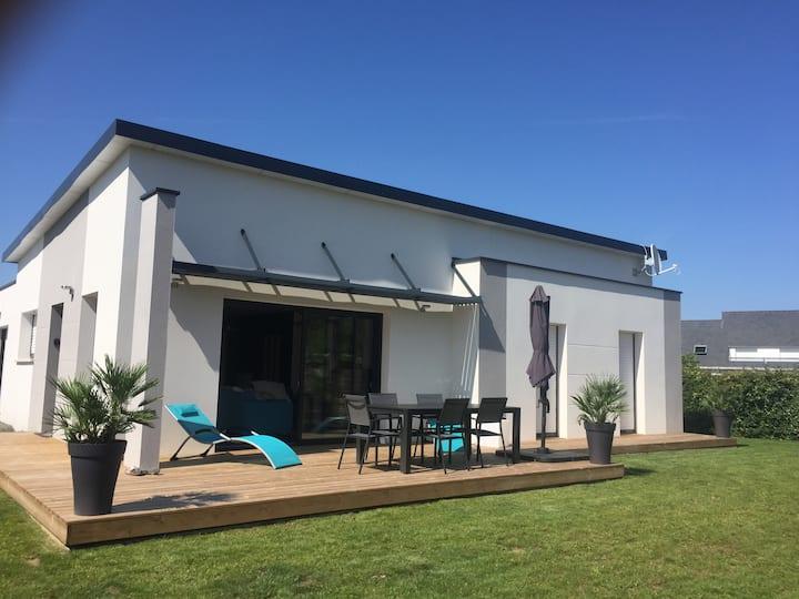 maison contemporaine la plage lodonnec Ezer à 50 m