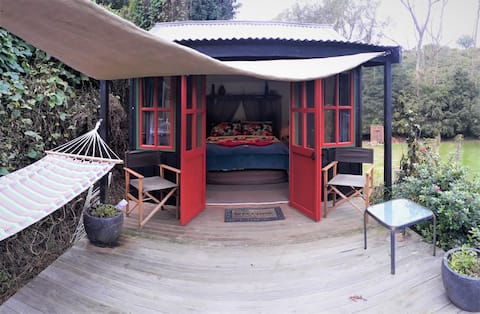 Quirky Woods at Maketu - The Cozy Cottage