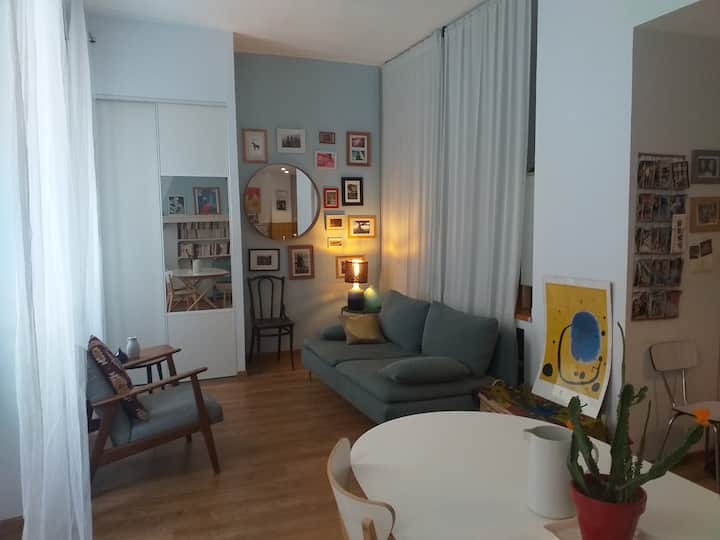 Bel appartement 40m2 centre ville Camas-La plaine