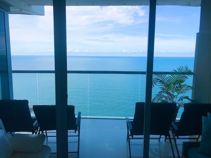 31st Flr Perfect Seafront ★Morros City/Bocagrande★