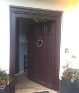 Eingangstür - Keine Treppen!  Front door: no steps!