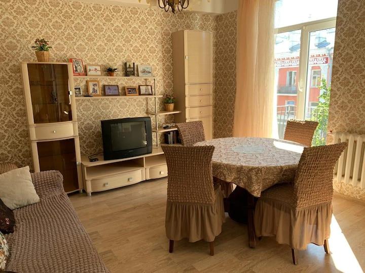 Уютная  квартира в центре Великого Новгорода