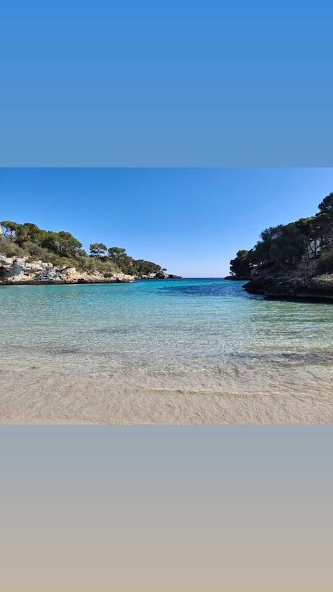 شقة بمساحة 120 متر مربع مع حمام سباحة - 3 دقائق سيرًا على الأقدام إلى الشاطئ