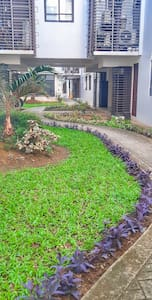 a mini park and feel the  greenery on facade area. stroll,unwind, relax