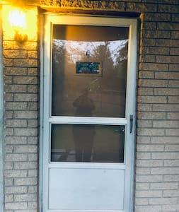 """36"""" entry door."""