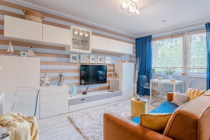 LUXURY BEACH Apartment | Gdansk Przymorze | COSY