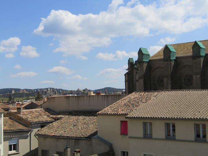 Vue panoramique au coeur de la Bastide
