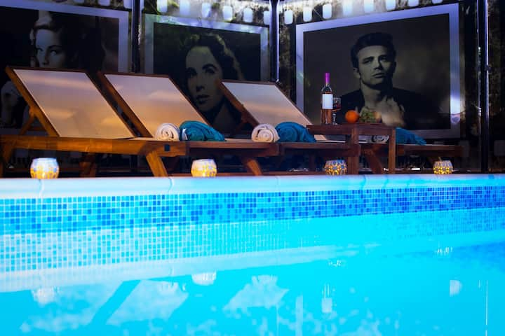 Apartments La Boheme- James Dean&swimming pool
