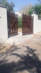 Cancello con rampa