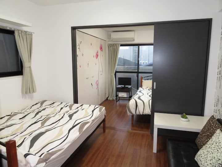 D03 New cozy room near JR Kyoto station Wifi